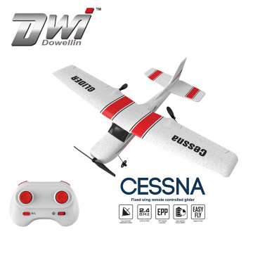 DWI Best kids gifts wholesale 2.4G 2 channel rc glider plane