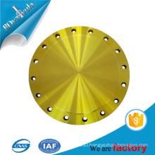 ASTM wcb material slip on / plate / blind flange in JIS standard BD VALVULA