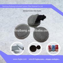 Filtro de carbono de meios de filtro de fabricação para garrafas de água potável