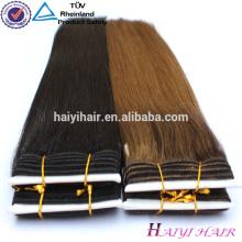 Remy Haarverlängerung Bestnote Remy Haar-Haar-Webart-Farbe 33