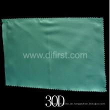 Woven Interlining White Fabric mit Blau (30D)
