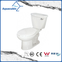 Siphonic 1.28gpf Single Flush Two Piece Elongated Toilet (ACT9059)