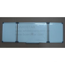 Aluminum Framed Magnetic Folding Writing White Board (BSTFD-A)