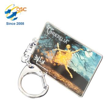 Porte-clés émail en métal personnalisé promotionnel bon marché de vente chaude