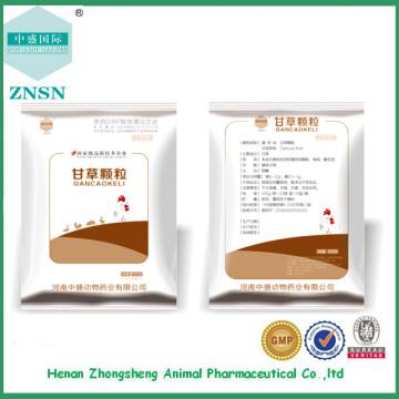 Medicina veterinária medicina chinesa grânulo de alcaçuz à venda a partir de China