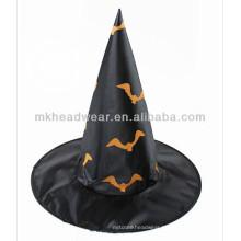 Bat Shaped Printing Hats for Halloween Festival Animal Hats