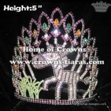 Zebra Aminal Jungle Pageant Crowns