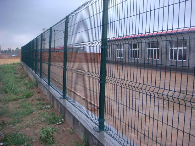 welded panel security panel fencing