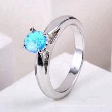 2018 nova moda jóias anéis anel de opala