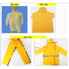 PE Regenmantel und Anzug