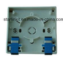 1 лицевая панель оптоволоконного кабеля, совместимая с Sc LC FC St