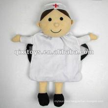 soft plush nurse doll backpack