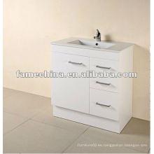 2013 Nuevo gabinete de baño blanco MDF FM-B750KW-14