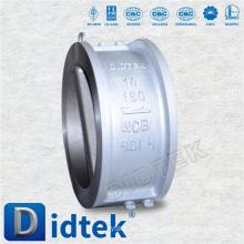 Válvula de retención de doble placa DIDTEK