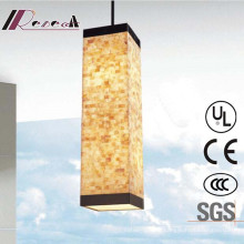 Guzhen High Quality Natual Shell Square Pendant Lamp