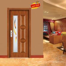fancy simple wood door design