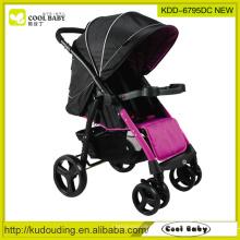 2015 New Baby Stroller China Fabricante Leve Seat Reversível Assento Removível Apoio para os Pés Rodas giratórias