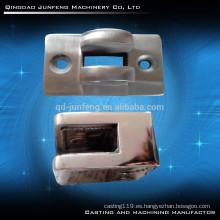 Abrazadera de cristal de acero inoxidable personalizada