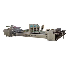 Automatic corrugated carton box glue machine for make cartons