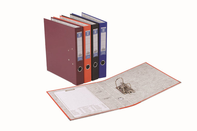 A4 double ring binder for office
