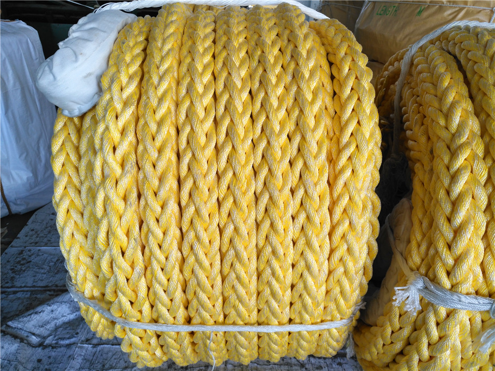 8-strand Polyeste Polypropylene Mixed Rope