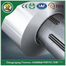 Papel de aluminio laminado en caliente de alta calidad para tapas