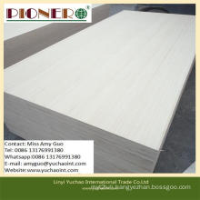 Slicing Cut Poplar Commercial Plywood with Low Price