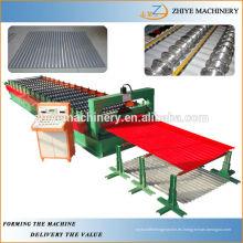 Panel de acero de metal de azulejos Panel de laminado que forma la máquina