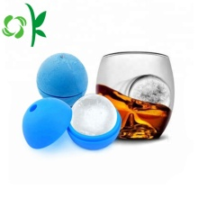 Silicone Sphere Ice Tray khuôn với nắp bán