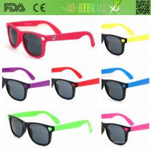 Sipmle, estilo de moda gafas de sol para niños (ks008)