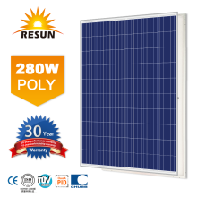 280W poly solar panel with 60 solar cells