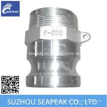 Tipo de acoplamento de alumínio Camlock F