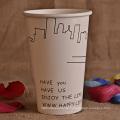 Hochwertige Highlight Einweg-Kaffeetasse