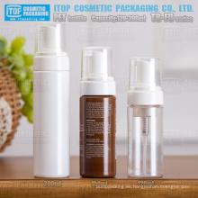 Serie TB-FD 120ml 150ml 200ml venta caliente popular bronceado cabello mousse mousse buena calidad redondo botella de bomba que hace espuma del animal doméstico