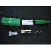 Sc/APC Simplex-0.9mm- Fiber Optic Connector