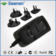 7.5 Watt AC Adaptor with Interchangeble AC Plugs for Mobile Device, Set-Top-Box, Printer, ADSL, Audio & Video or Household Appliance