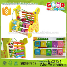 New Design Kids Counting Toys Educational Wooden Mathematics Learning Set Abacus for Children