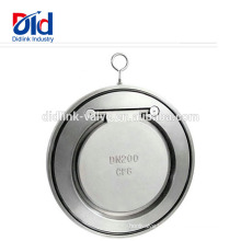Double Swing Spring Loaded Stainless Steel Stop Cf8m Injection Price Sandwich Rubber Check Valve