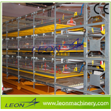 Leon Series Chicken Battery cage for Broiler H-type