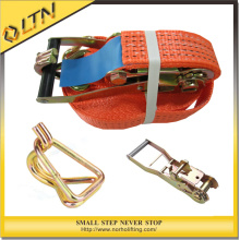 High Quality Rachet Strap with Buckle&Cargo Lashing Strap (NHRT)