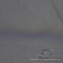 Water & Wind-Resistant Down Jacket Woven Dobby Striped Jacquard 26% Polyester 74% Nylon Blend-Weaving Intertexture Fabric (H014)
