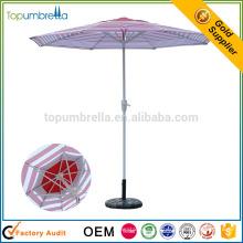 высокое качество рекламных солнце защищенные вися патио зонтик