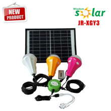 2015 new products 12w solar panel led solar home kit solar home light