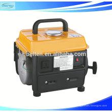 Cylindre simple à refroidissement à l'air de l'air au plus récent Coulissant à 2 temps à démarrage électrique Générateur d'essence portable 500W