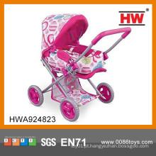 Carrinho de criança engraçado da boneca do guarda-chuva do carrinho de criança da baby-doll