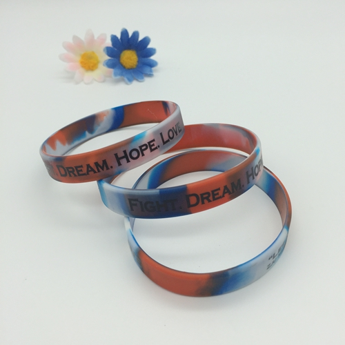 silicone wristbands with the swirl crafts