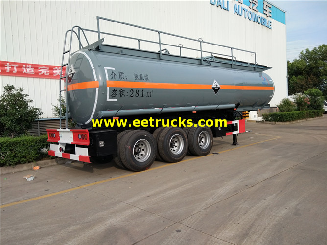 HCl Delivery Semi-Trailers