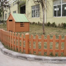 YUJIE factory outdoor wpc composite fence wpc fence garden on sale