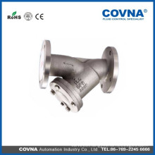 FLANGE END STAINLESS STEEL FILTER STRAINER FOR WATER OIL GAS with price