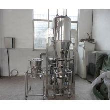 2017 FL series boiling mixer granulating drier, SS bed fluidization, vertical elevator conveyor